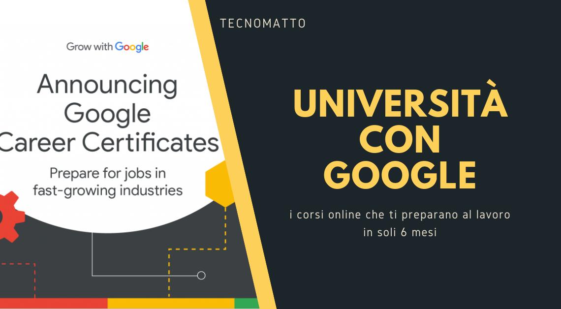 Google sfida le università con la laurea in sei mesi