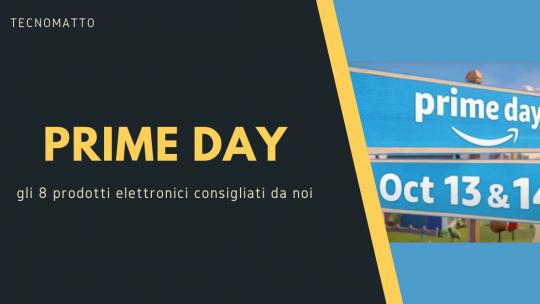Prime Day: gli 8 prodotti elettronici scontati migliori