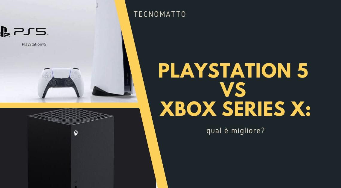 PS5 vs Xbox Series X: qual è migliore?